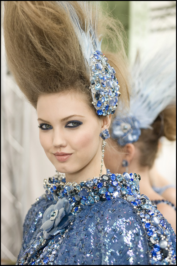 Chanel Spring/Sumer 2012 Haute Couture Show Makeup