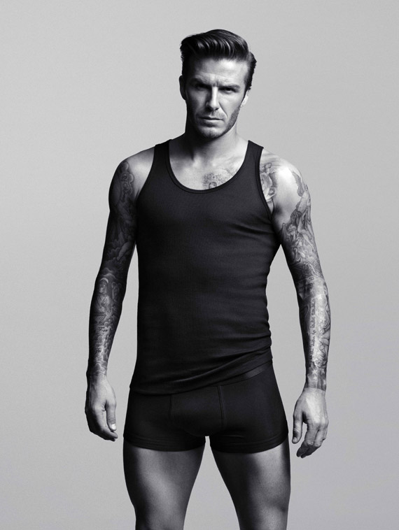 David Beckham for H&M Ad Campaign