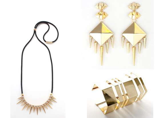 nOir Jewelry for L.A.M.B Collection