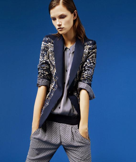 Zara Woman March 2012 Lookbook