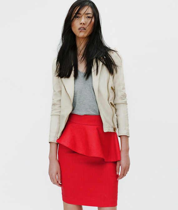 Zara Woman April 2012 Lookbook