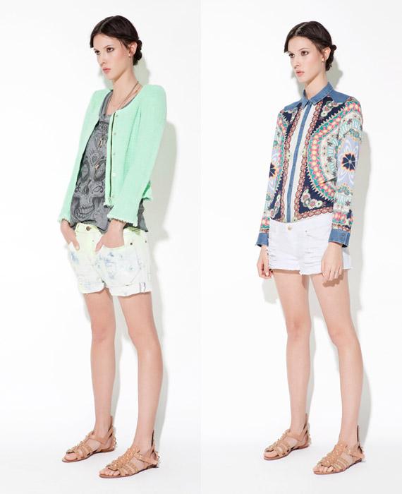Zara TRF April 2012 Lookbook