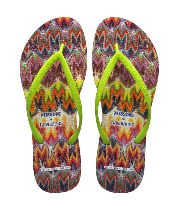 Missoni x Havaianas Summer 2012 Collection