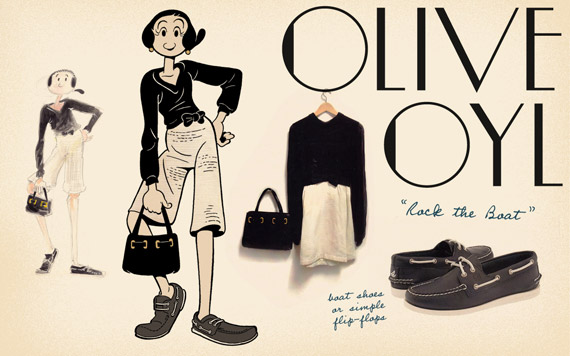 Olive Oyl is back!