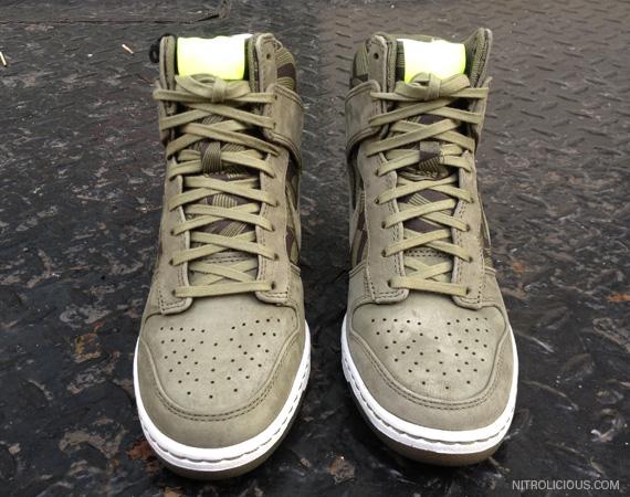 Liberty x Nike Dunk Sky High   Lotus Jazz Collection