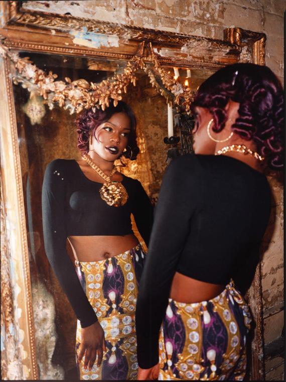 Azealia Banks x ASOS Holiday 2012 Campaign