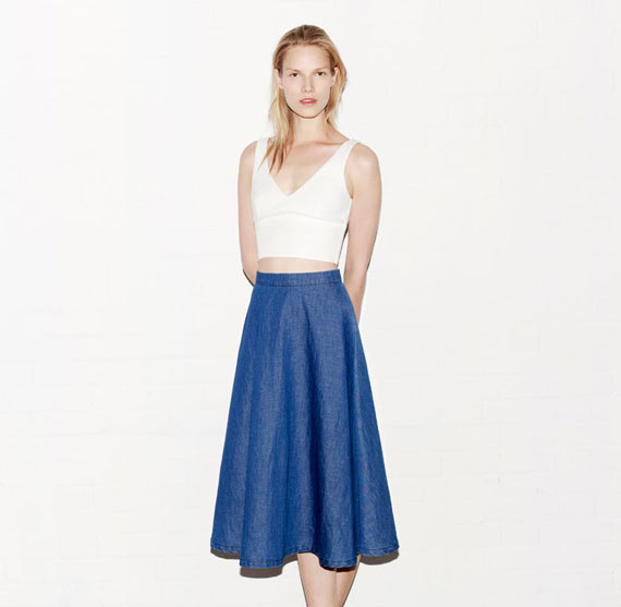 Zara Woman May 2013 Lookbook