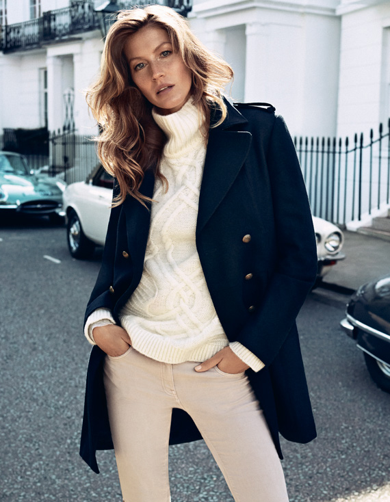 Gisele Bündchen for H&M Fall 2013 Campaign + BTS Video