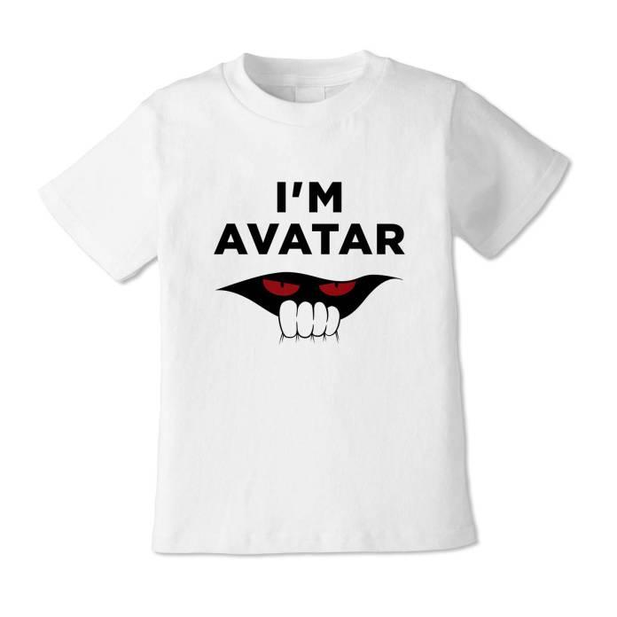 Hitomasu Madoru Virtual Reali-T T-shirt says Im Avatar