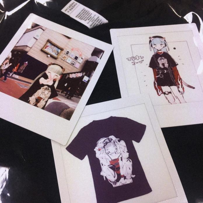 Polaroid photographs of Kikiyu atatame_m