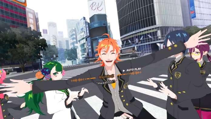 Sota Machikoji jumps at the protagonist