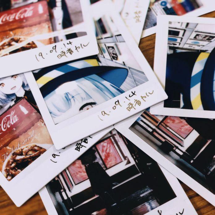 Tokine Karu clocknote polaroid pictures at PARK Harajuku