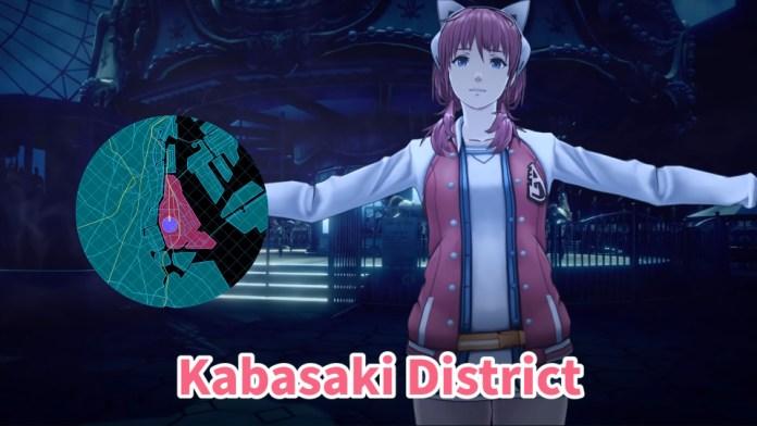 Iris Sagan A-set in AI: The Somnium Files Kabasaki District