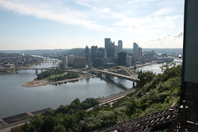Pittsburgh, from atop Mt. Washington