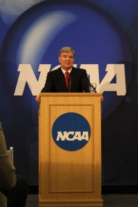 Mark Emmert, NCAA President