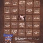 Snickers Broadcast Bingo