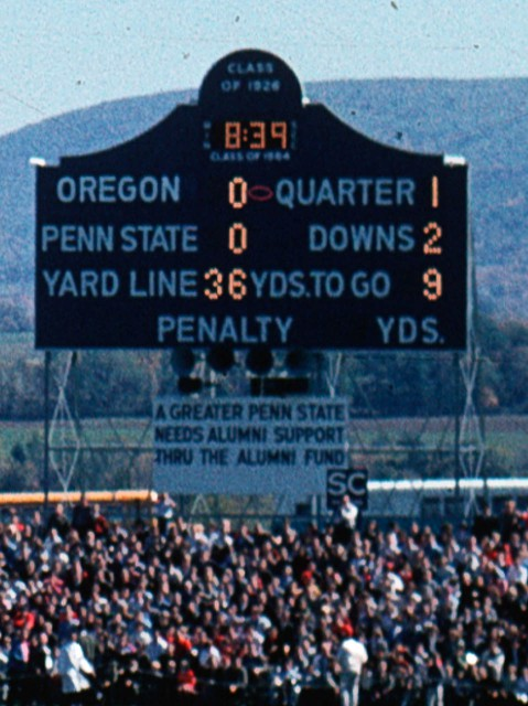 The Old Scoreboard