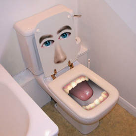 Toilet Bowl Eligible!