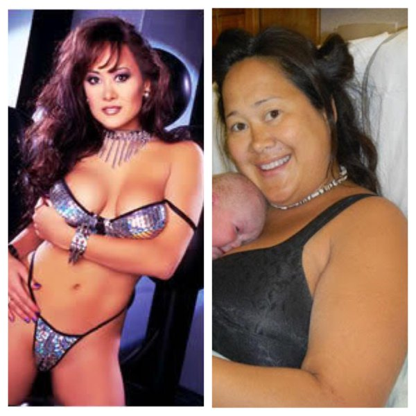 Asia Carrera, then and now.