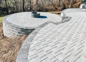 concrete pavers paving stones