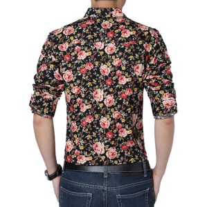 Whole-New-2015-High-Quality-Flower-Shirt-Men-Casual-Shirt-Long-Sleeve-Shirt-Large-Size
