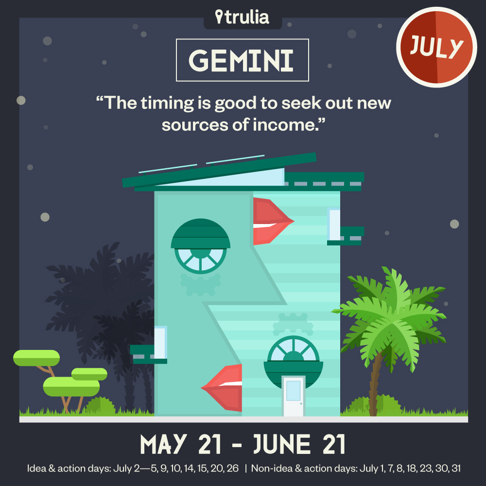 Gemini Horoscope Trulia