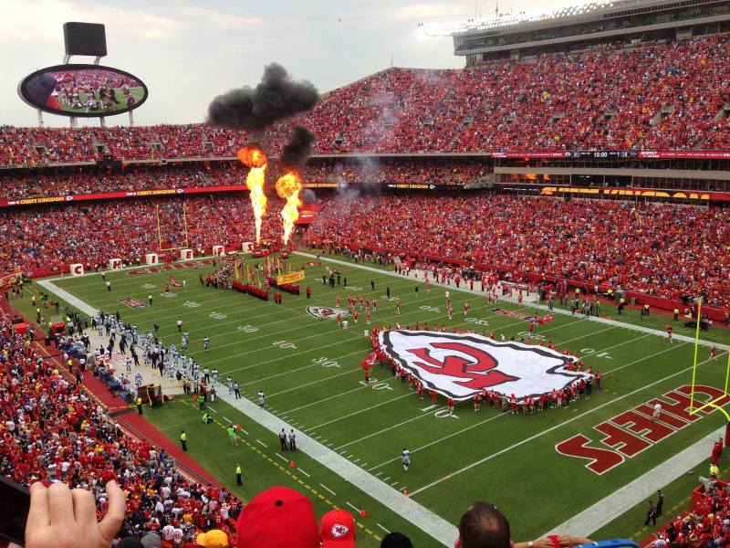 Arrowhead Stadium. Photo Source: Leanne Breiby of Grow Your Giving