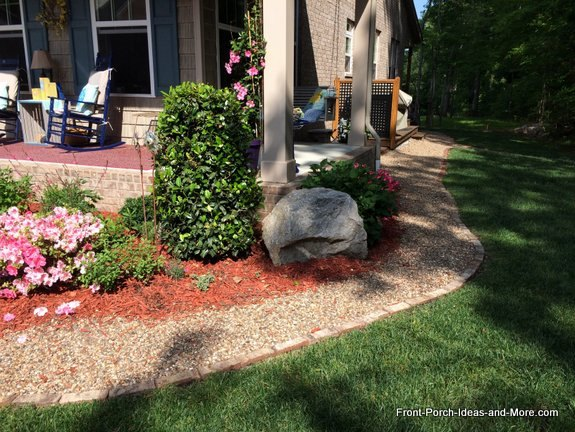 Flower beds and gardens