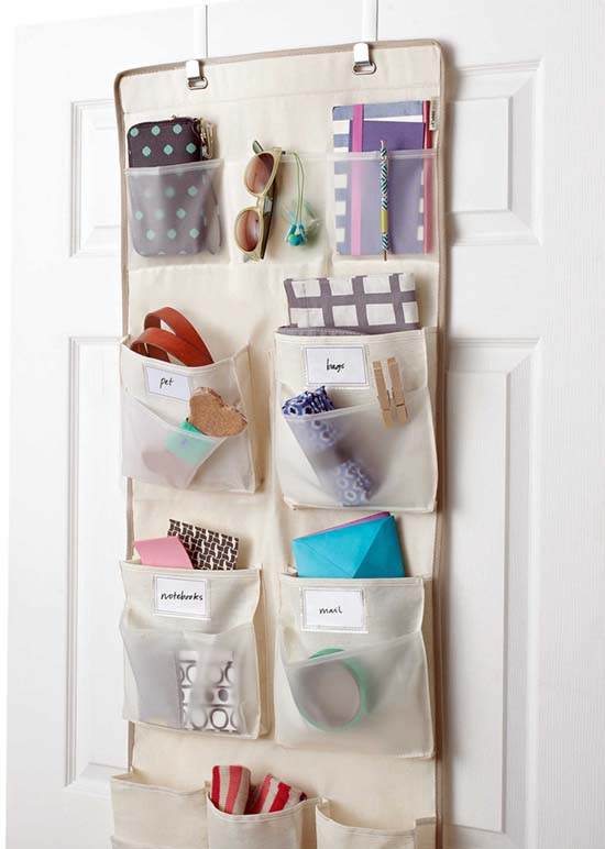 Over-the-Door Organizer, Bed Bath & Beyond, $ 20