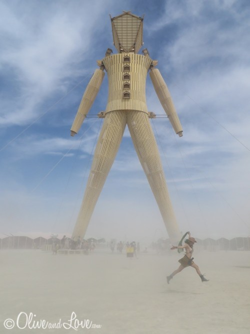 Burning Man Festival. Source: Laura of Olive and Love
