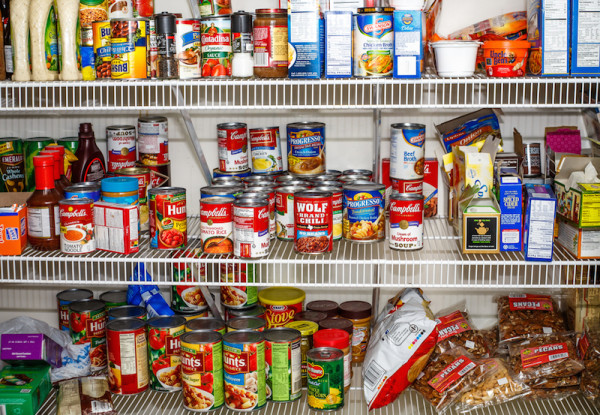 Cluttered Pantry