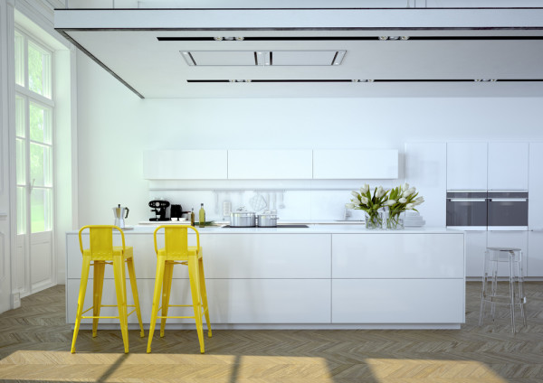 Yellow Kitchen Stools