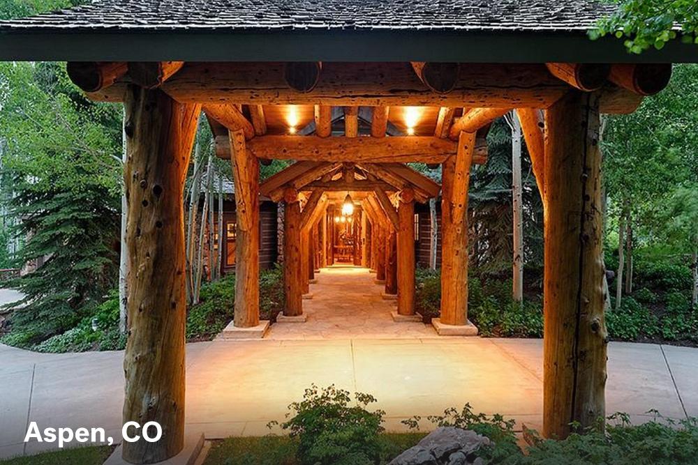 Wood Door Aspen