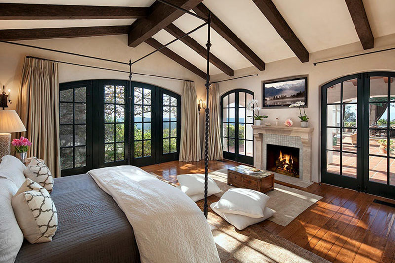 craftsman-master-bedroom-with-french-doors-vaulted-ceiling-and-fireplace-i_g-IS9d0ucxzj6n3e1000000000-I48jb