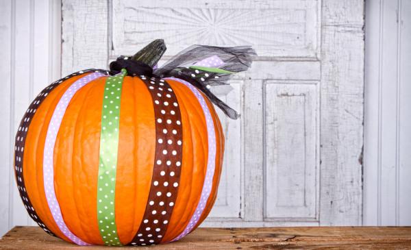 Pumpkin and Ribbons