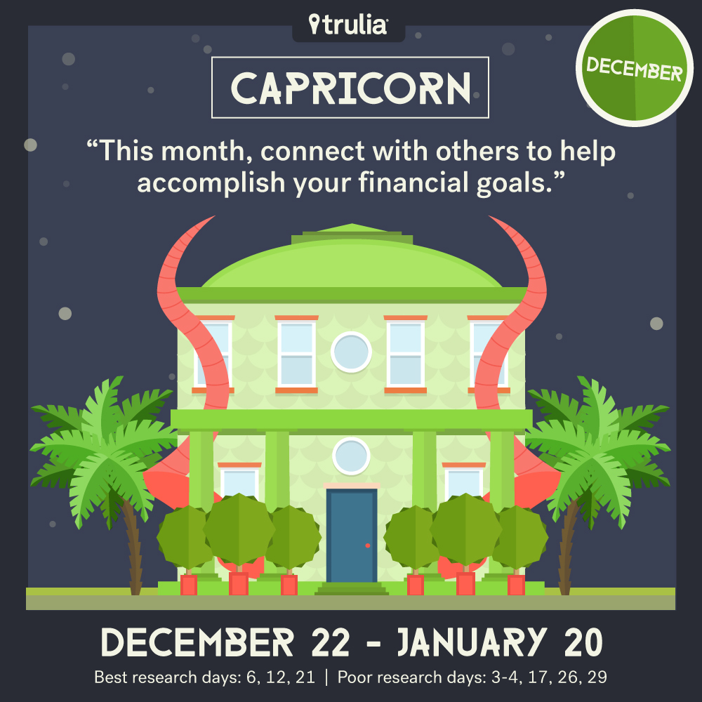 December money horoscope Capricorn
