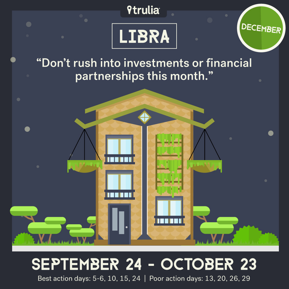 December money horoscope Libra