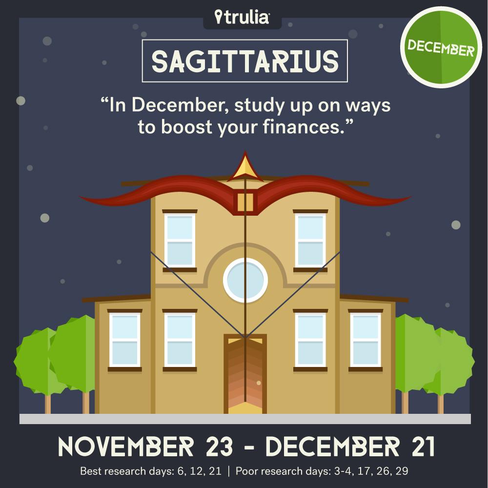 December money horoscope Sagittarius