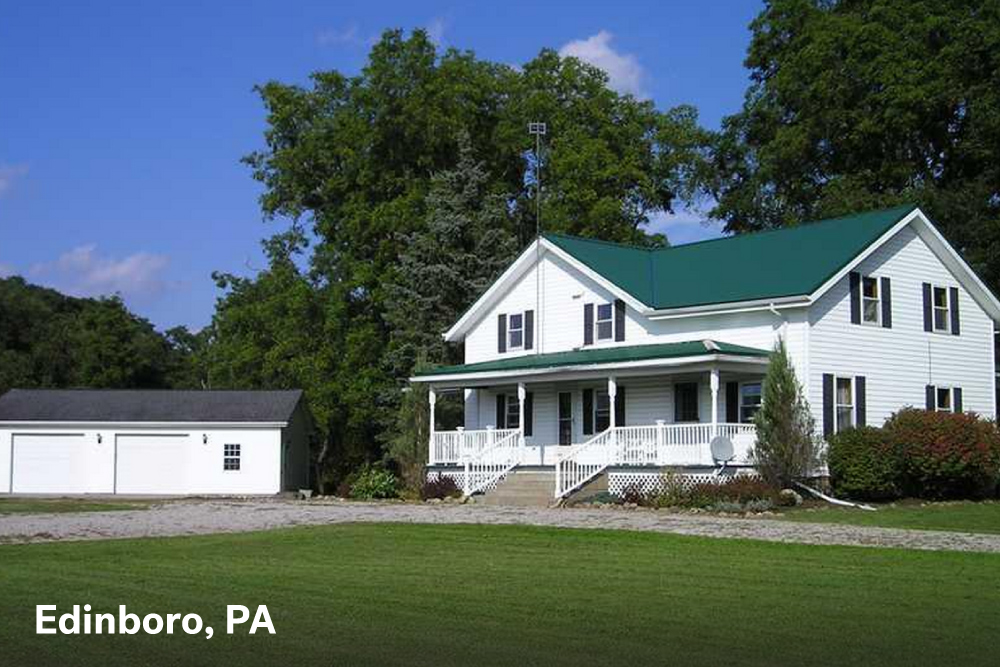 farmhouses for sale in Edinboro PA