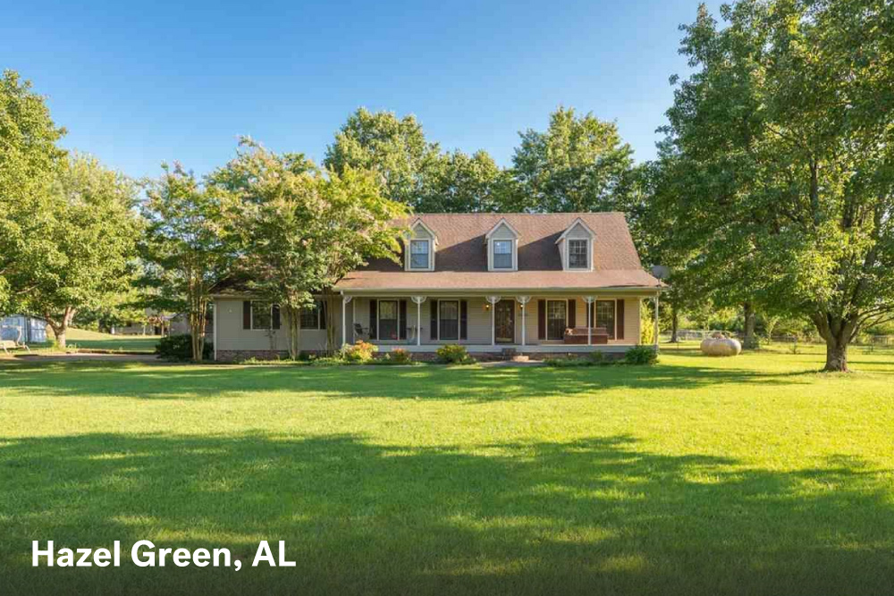 farm houses for sale in Hazel Green AL