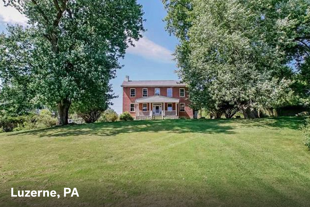farm houses for sale in Luzerne, PA