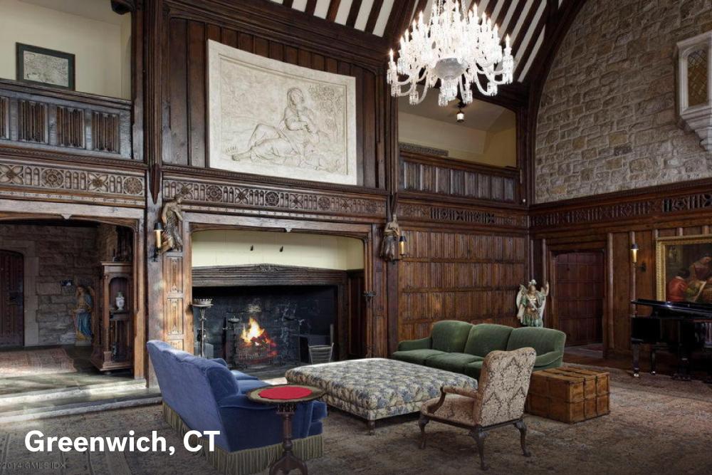 Fireplace designs Greenwich
