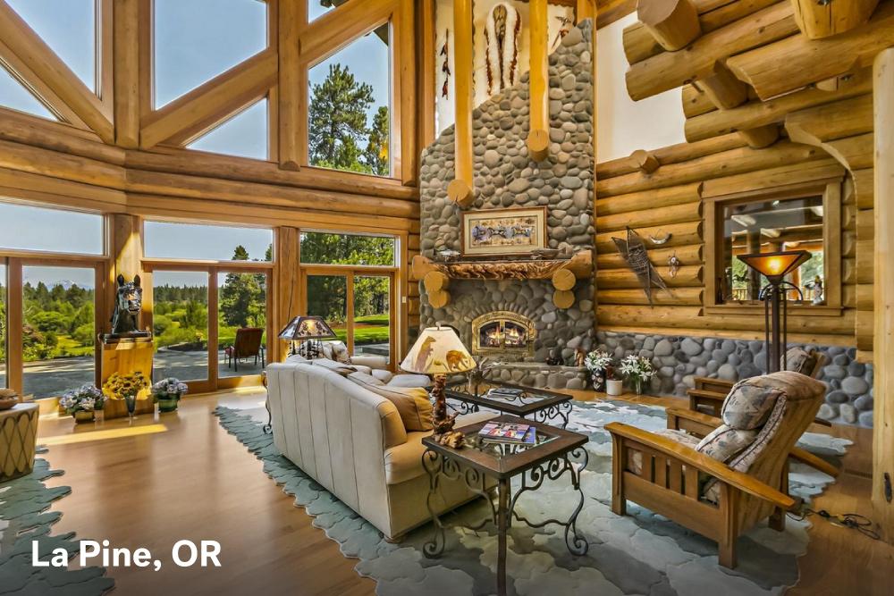 Fireplace designs La Pine Oregon