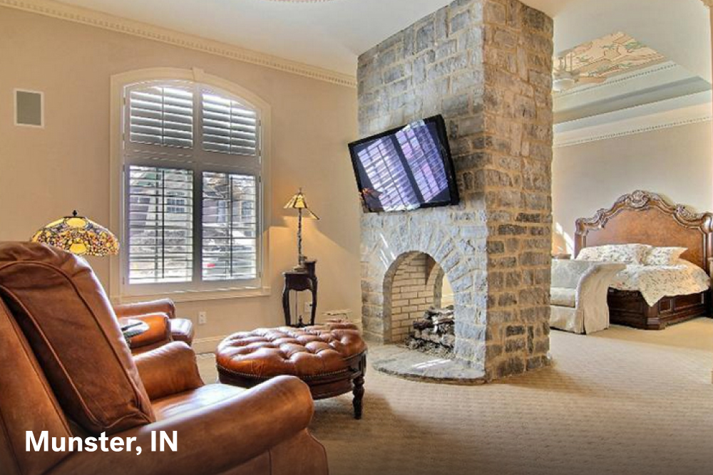 Fire place designs Munster