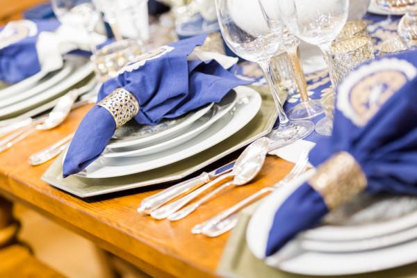 Hanukkah Place Setting