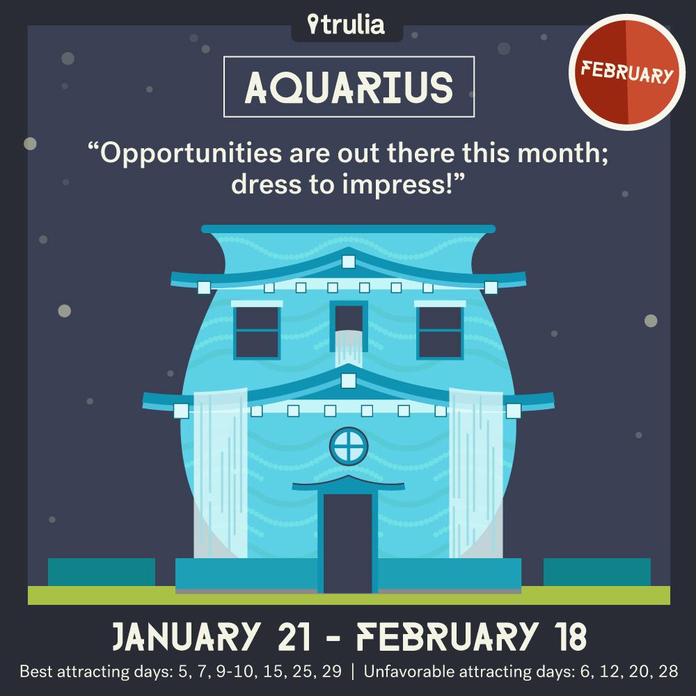 February Horoscope Aquarius