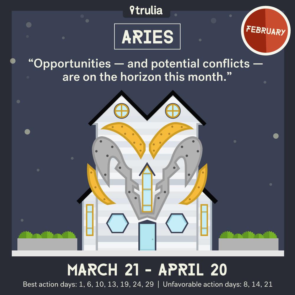 February Horoscope Aries