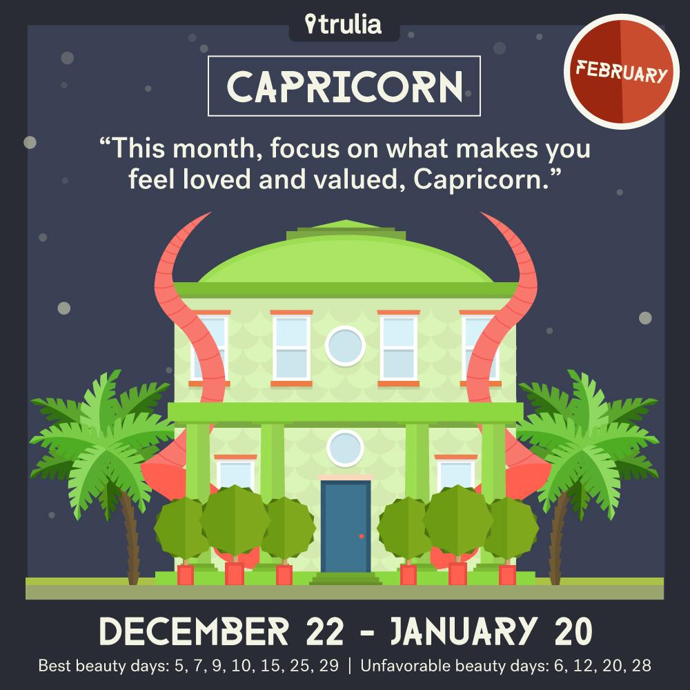 February Horoscope Capricorn