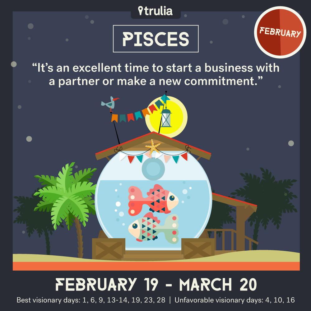 February Horoscope Pisces