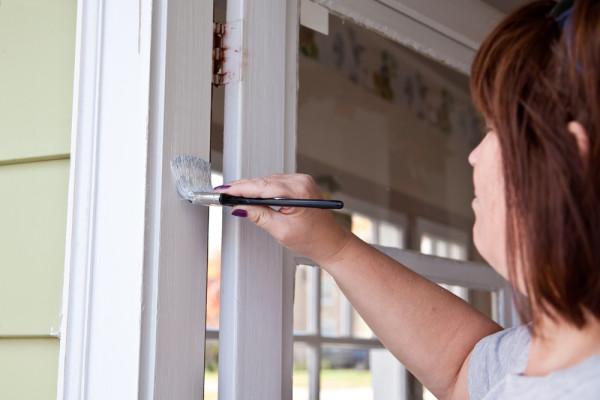 Paint Door Jamb